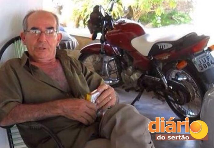 Luiz Dantas Melo tinha 76 anos (foto: arquivo familiar)