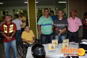Fundadores do 1º posto de Cajazeiras foram homenageados