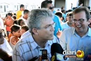 Ricardo Coutinho diz que falta dialogo por parte de André Gadelha com Estado