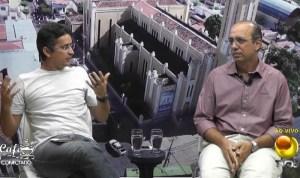Dr. Paulo foi entrevistado por Petson Santos