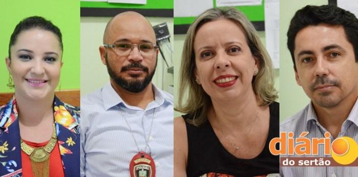 Delegados da Polícia Civil de Sousa (foto: Charley Garrido)
