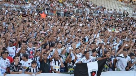 Torcida do Botafogo promete lotar o estádio Almeidão (foto: Phelipe Caldas)