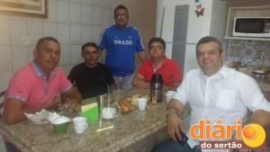 Filiados do PTB reunidos em Cajazeiras