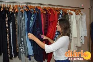 Grande variedade de marcas exclusivas é um dos destaques da loja