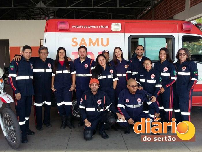 Presidente do COREN parabeniza SAMU Sousa (Foto: Diário do Sertão)