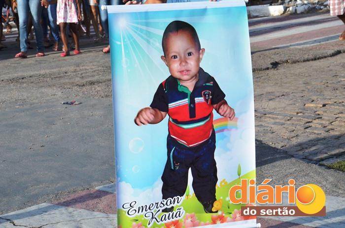 Bebê foi assassinado com tiro na cabeça (foto: Charley Garrido)
