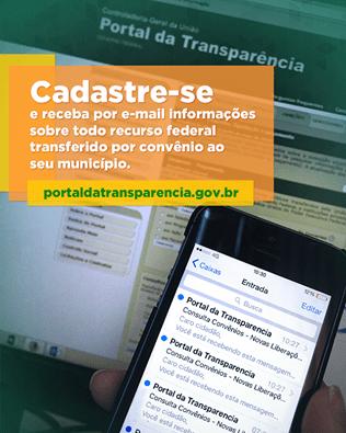 Zenildo Oliveira presidente do diretório do PSD na cidade vem a público apoiar a inciativa da Controladoria Geral da União