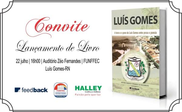 convite Livro-