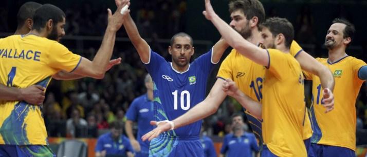 Brasil vence a França no vôlei masculino e pega a Argentina nas ... c3d2e80a174d6
