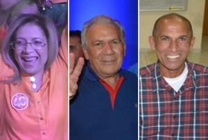 Denise, José Aldemir e Antônio Gobira