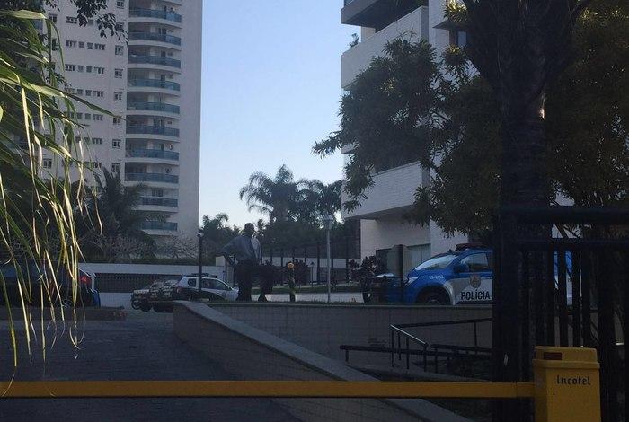 O crime aconteceu no condomínio Pedra de Itaúna (Foto: Divulgação/Jorge Martins)