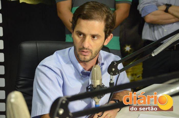 João Bosco Gadelha de Oliveira Filho foi entrevistado na TVDS (foto: Charley Garrido)