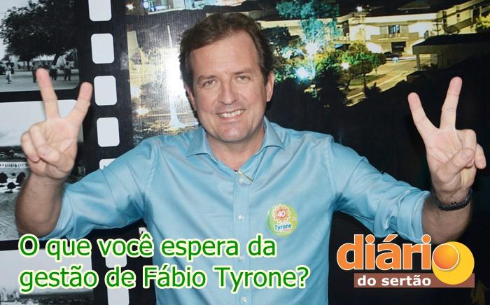 Fábio Tyrone foi eleito novo prefeito de Sousa (foto: Charley Garrido)