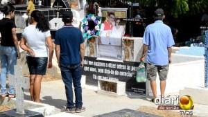 Jazigo das vítimas do 'Crime do Papa Mel'