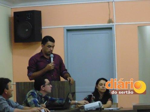 Audiência pública mostra os números da saúde em Bernadino Batista (Foto: DS)