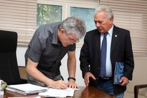 Governador falou sobre audiência com Zé Aldemir