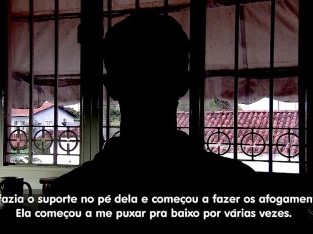 Aluno diz que desistiu de curso dos bombeiros após tortura: 'Me afogou' (Foto: Reprodução/TVCA)