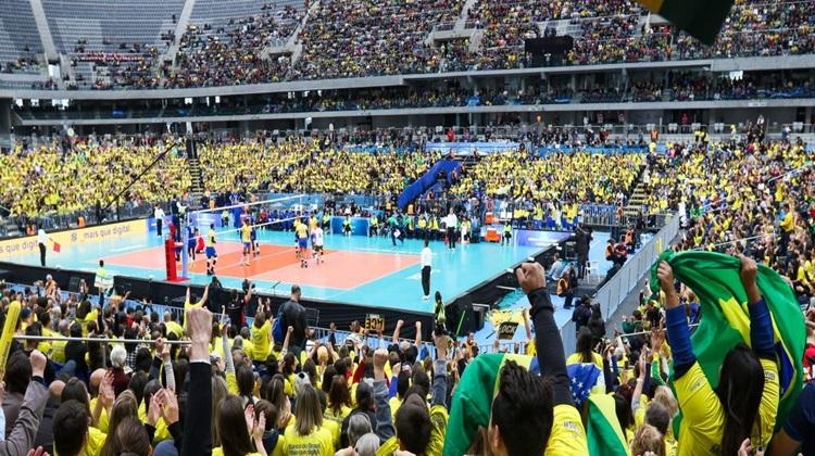 Brasil a um passo da semi na Liga Mundial