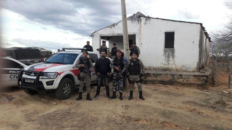 Operação policial apreende mais de duas toneladas de material explosivo em Coremas