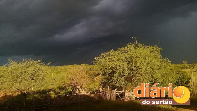 Sertão da Paraíba registra mais de 317 mm de chuvas nessa sexta-feira; Veja onde choveu!