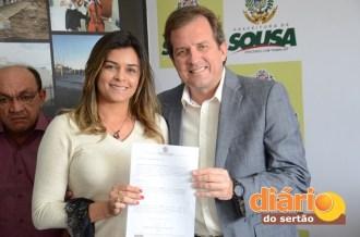 Prefeito de Sousa realizou mudanças no secretariado (foto: Charley Garrido)
