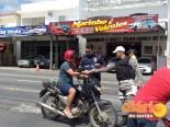 Campanha realizada em Pombal (foto: DS)