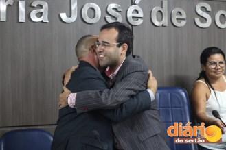 Ronaldo Besserra em sessão para regulamentação das 30H em Cuité