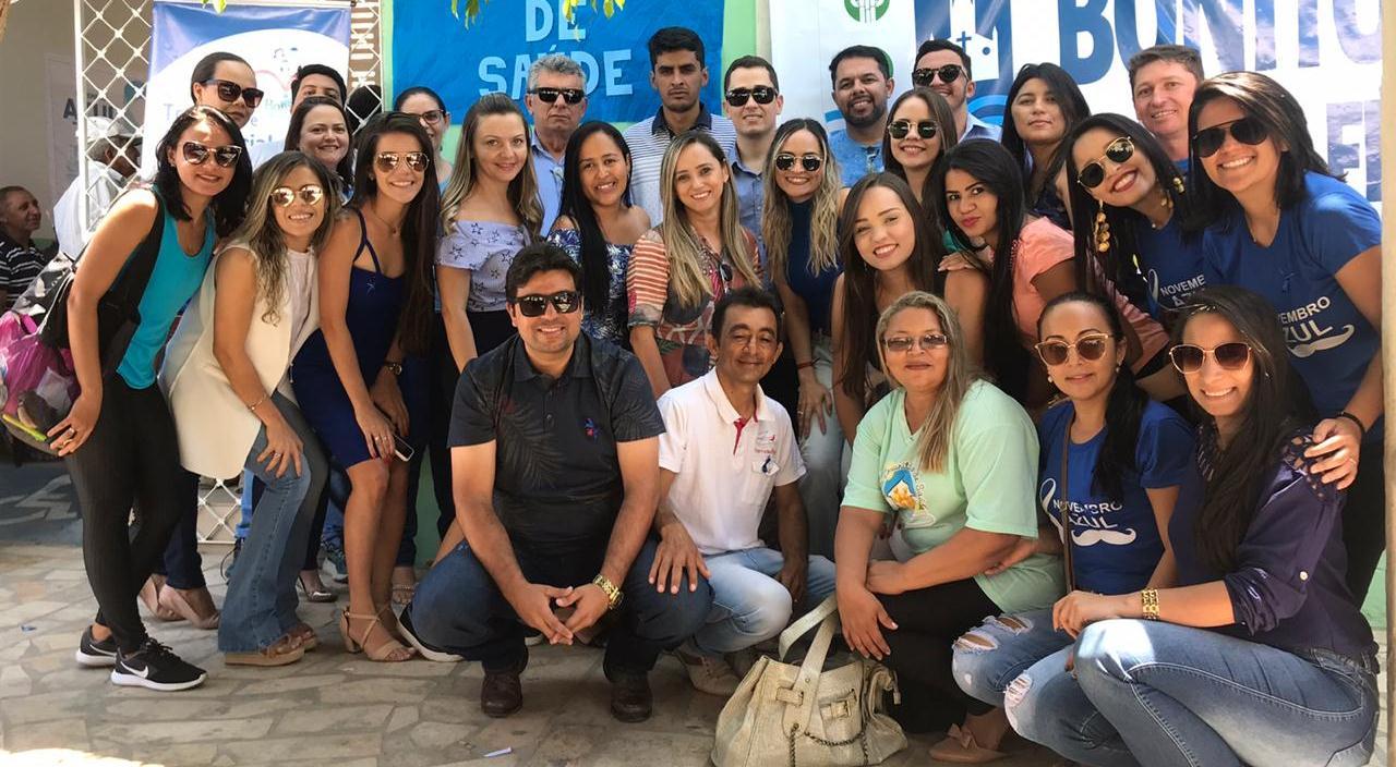 Prefeitura de Bonito de Santa Fé se engaja no Novembro Azul e promove 'Dia D' da campanha - Diário d - Diário do Sertão