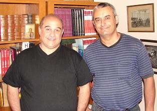 Walter Motillo y Mario Novak.