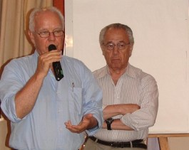 Ricardo De Bernardi y Osvaldo Ottaviano.
