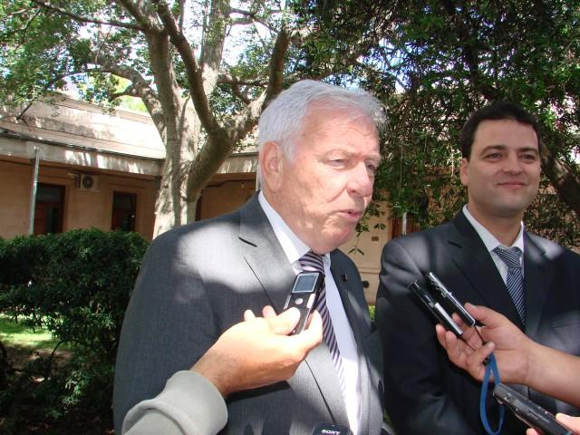 Ministro de Justicia de la Provincia, Carlos Alberto Mahiques