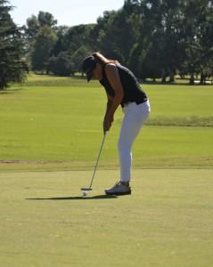 Alejandra Oyangueren integro el equipo del Golf Club Atletico 9 de Julio