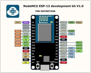 pinout nodemcu esp12 - Electrogeek