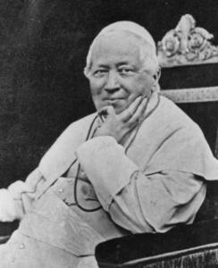 PIO IX, Papa entre los años 1846 y 1878, conoció nuestro país en el año 1824, como integrante de la misión encabezada por Monseñor Juan Muzi y que en marzo de ese año llegaba a Chile, enviada por el Papa León XII.