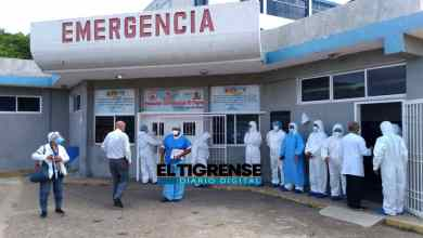 Photo of Ingresan dos pacientes a la sala Covid del Hospital de El Tigre