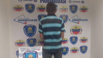 Photo of En Pariaguán fue detenido un hombre solicitado