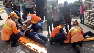 Photo of Vigilante del Unimall fue aprisionado por portón del centro comercial