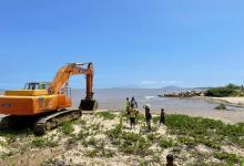 Photo of Inició despeje del canal de alivio del río Neverí