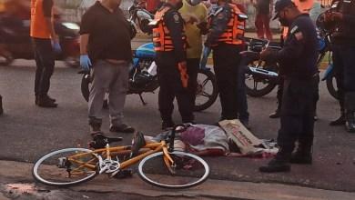 Photo of Ciclista murió al ser arrollado por un camión en la avenida Subero