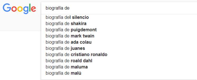 Google Suggest