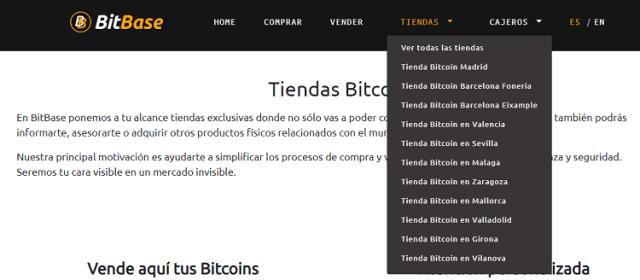 Tiendas BitBase