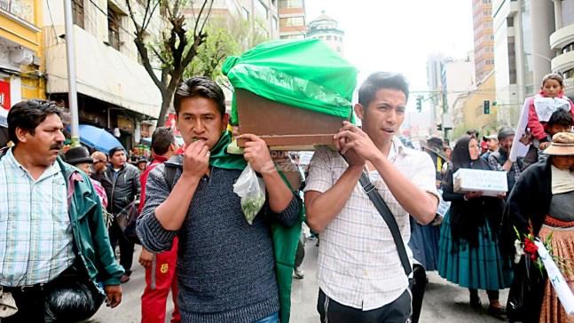 Resultado de imagen para marcha de los cocaleros en bolivia