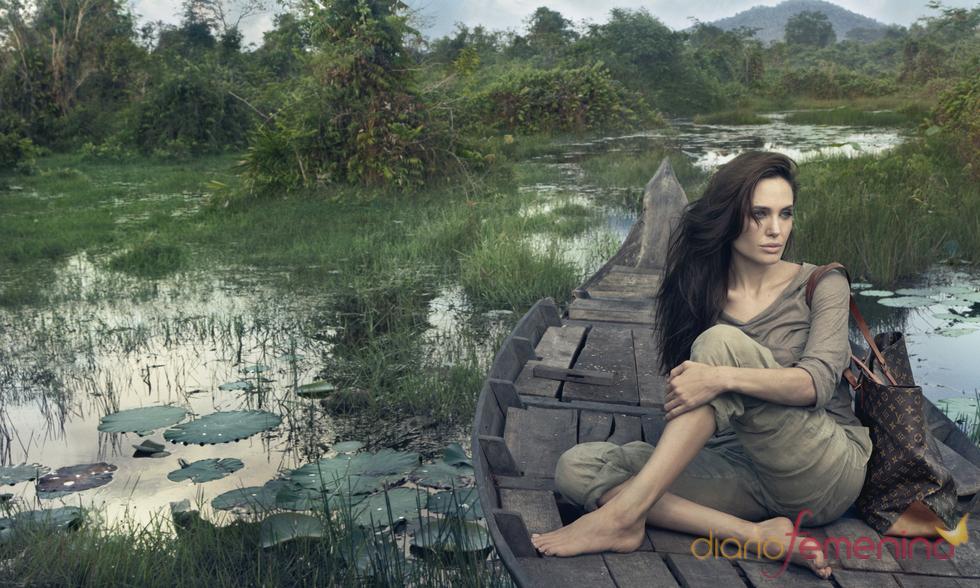 Angelina Jolie, imagen de marca de Louis Vuitton