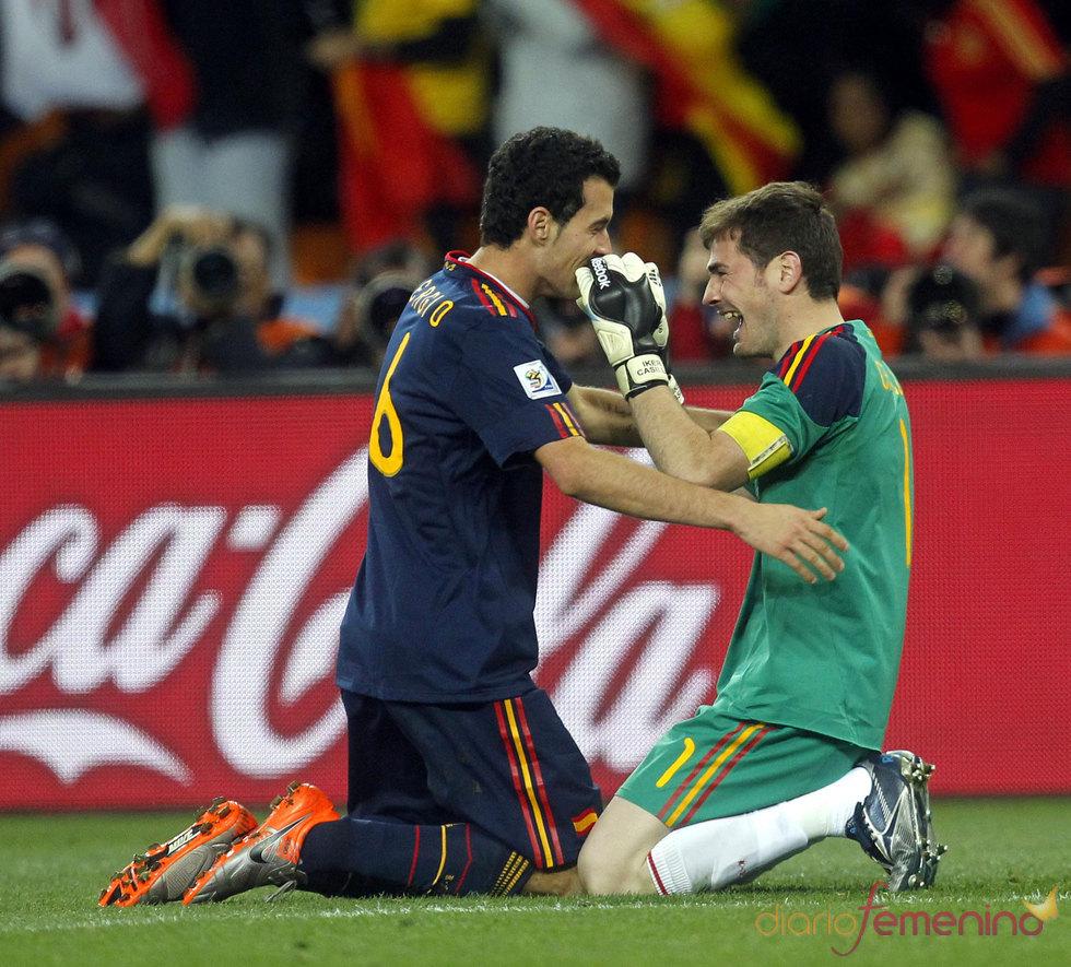 Momento final del partido,ESPAÑA GANA