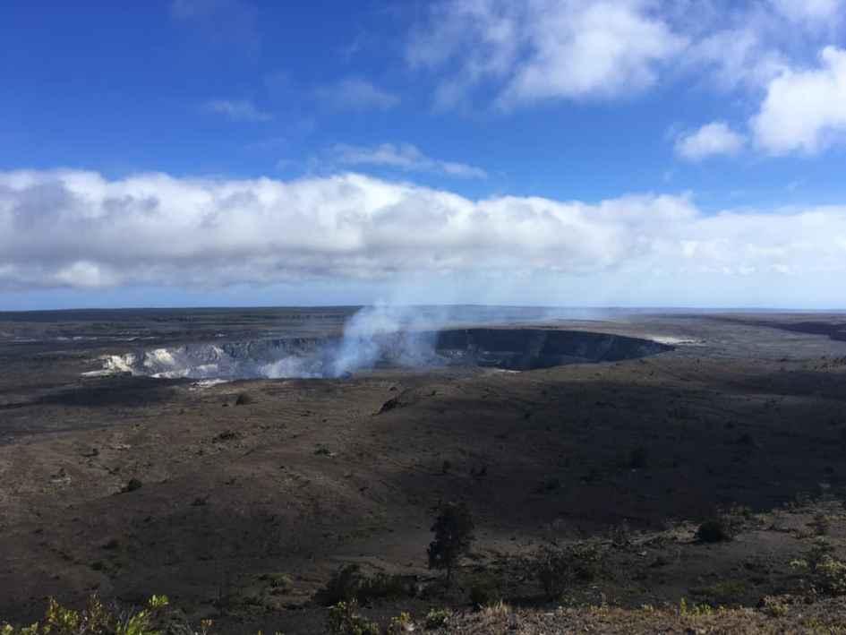 caldera volcano kilauea