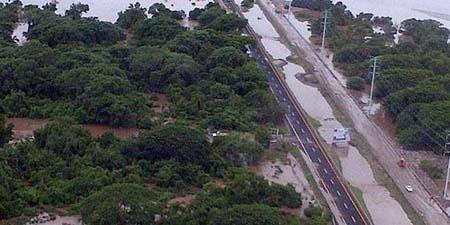 Manuel es el tercer ciclón en costas mexicanas desde el sábado