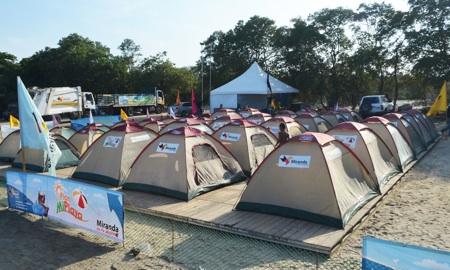 Ciudad Campamento Miranda en Playa Carenero