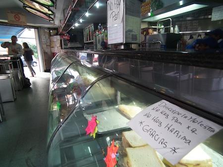 Se agudiza la escasez de pan en los Altos Mirandinos.ARCHIVO