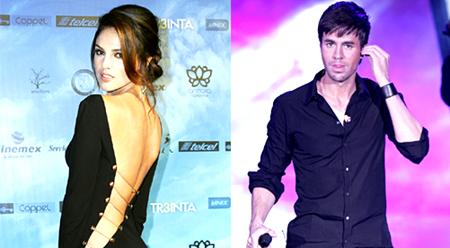 El famoso cantante pudo haber dejado a Anna por Eiza González