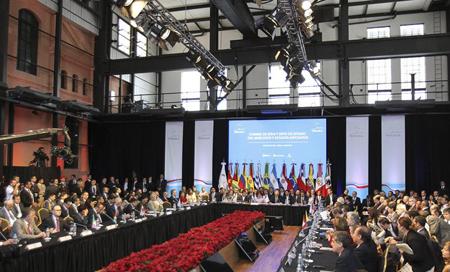 Los presidente del Mercosur rubricaron este miércoles un comunicado en apoyo a Venezuela y en rechazo a las sanciones que impondría Estados Unidos a funcionarios del gobierno AGENCIAS
